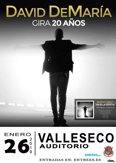 cartel David De María Valleseco